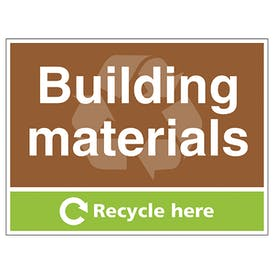 Building Materials Recycle Here