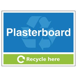 Plasterboard Recycle Here
