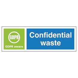 Confidential Waste, GDPR Aware - Landscape