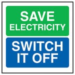 Save Energy Switch It Off