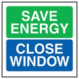 Save Energy Close Window