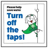Please Help Save Water Turn Off The Taps! Woman Right