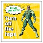 Please Save Water! Turn Off The Taps Hero