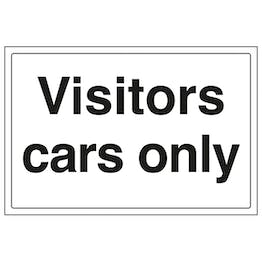 Visitor Cars Only