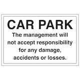 Car Park - Management Responsibility - Landscape