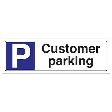 Customer Parking - Landscape