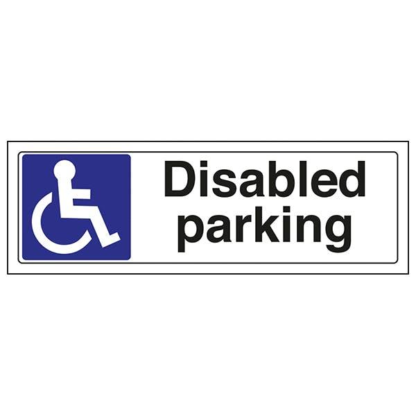 Disabled Parking - Landscape