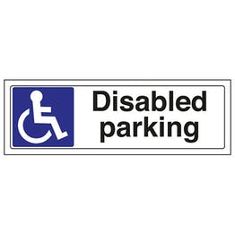 Disabled Parking - Landscape
