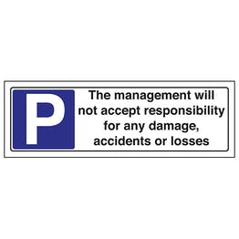 The Management Will Not Accept - Landscape
