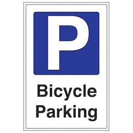 Bicycle Parking - Portrait