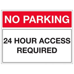 24 Hour Access Required - Landscape