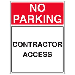 Contractor Access - Portrait