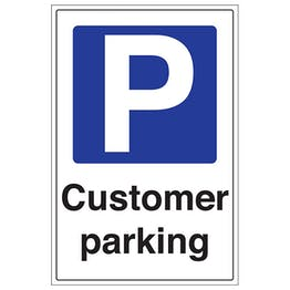Customer Parking - Portrait
