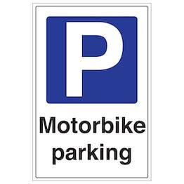 Motorbike Parking - Portrait
