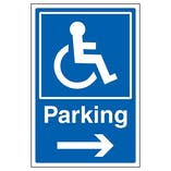 Traffic & Parking Polycarbonate Signs