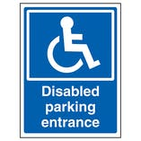 Disabled Parking Entrance