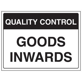 Quality Control - Goods Inwards