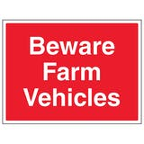 Beware Farm Vehicles - Large Landscape