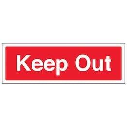 Keep Out - Landscape