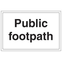Public Footpath - Large Landscape