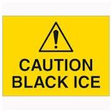 Caution Black Ice