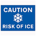 Caution Risk Of Ice