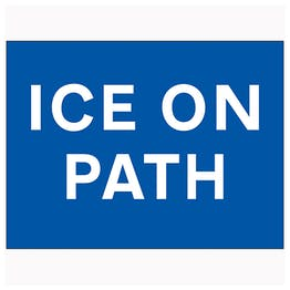 Ice On Path
