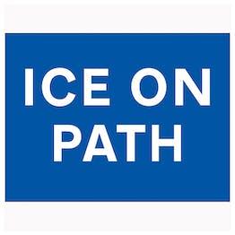 Ice On Path