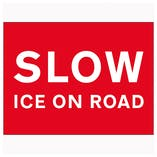 Slow Ice On Road