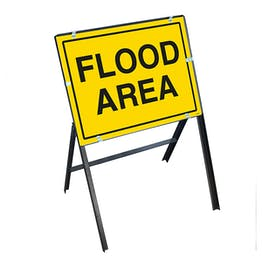 Flood Area with Stanchion Frame