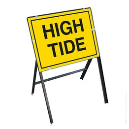 High Tide with Stanchion Frame