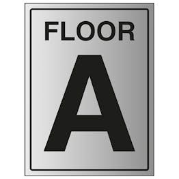 Floor A - Aluminium Effect