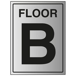 Floor B - Aluminium Effect