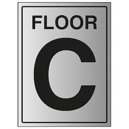 Floor C - Aluminium Effect
