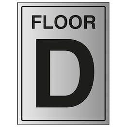 Floor D - Aluminium Effect