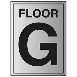 Floor G - Aluminium Effect