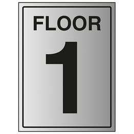 Floor 1 - Aluminium Effect