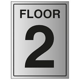 Floor 2 - Aluminium Effect