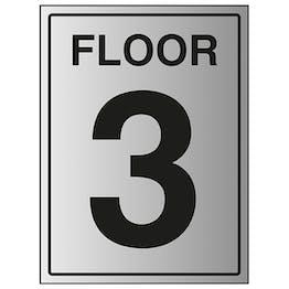 Floor 3 - Aluminium Effect