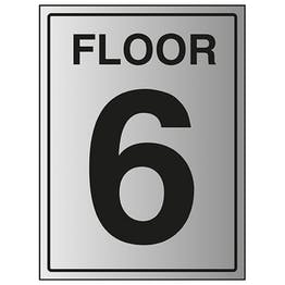 Floor 6 - Aluminium Effect