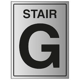 Stair G - Aluminium Effect