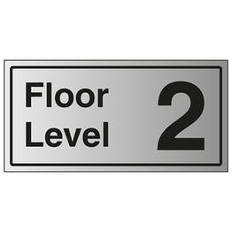 Floor Level 2 - Aluminium Effect