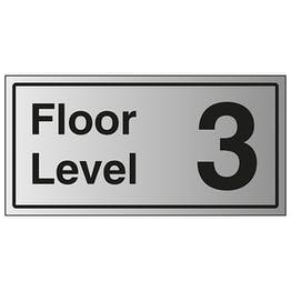 Floor Level 3 - Aluminium Effect