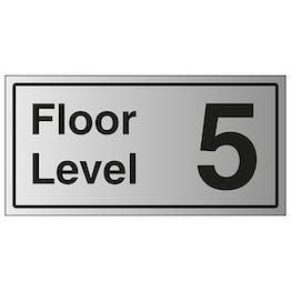 Floor Level 5 - Aluminium Effect
