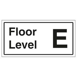 Floor Level E