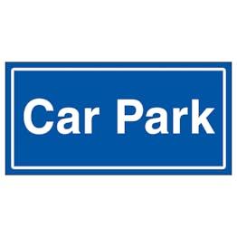 Car Park Blue
