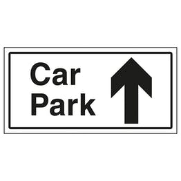 Car Park Arrow Up