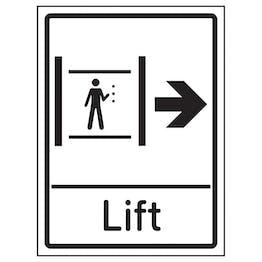 Lift Arrow Right