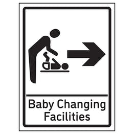 Baby Changing Facilities Arrow Right