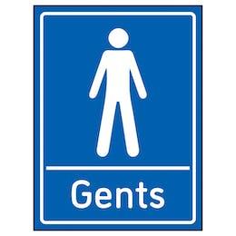 Gents Toilets Blue